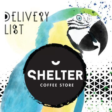 Delivery List-Shelter Coffee Store