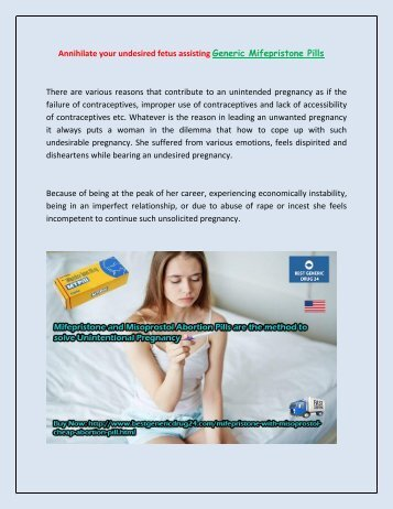 Buy Mifepristone and Misoprostol Pill Kit Online Cheap in USA UK at BestGenericDrug24