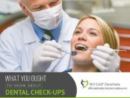 Teeth Checkup in Melbourne - No Gap Dentists