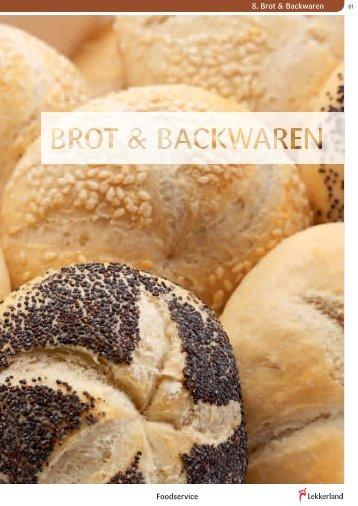 8. Brot & Backwaren Foodservice