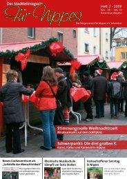 Stimmungsvolle Weihnachtszeit Schwerpunkt: Die ... - Für Nippes eV