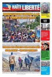 Haiti Liberte 13 Septembre 2017