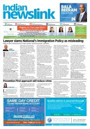 Indian Newslink Sept 15 2017 Digital Edition