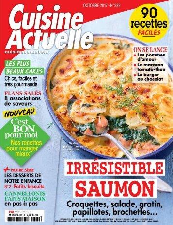 Cuisine Actuelle 10/2017