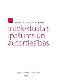 Intelektuālais īpašums un autortiesības [PDF] - Valsts izglītības ...