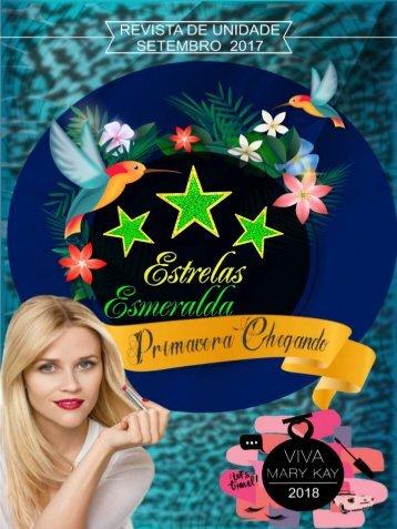 REVISTA UNIDADE ESTRELAS ESMERALDAS - SETEMBRO 2017