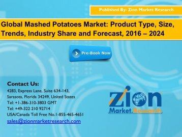 Mashed Potatoes Market
