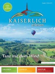 Kaiserlich Erleben, Ausgabe 3/2017