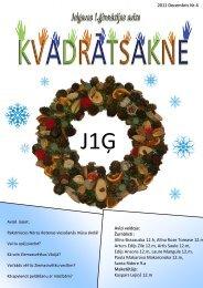 2011.g. decembris Nr.4 - Jelgavas 1. ģimnāzija