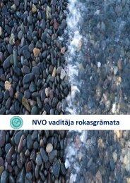 NVO vadītāja rokasgrāmata - Latvijas Pilsoniskā Alianse