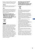 Sony DSC-W215 - DSC-W215 Consignes d'utilisation Turc - Page 3