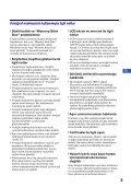 Sony DSC-W215 - DSC-W215 Consignes d'utilisation Turc - Page 5