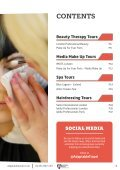 Hair, Beauty & Media Makeup Brochure 2018 by Adaptable Travel - Page 3