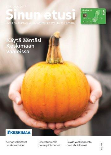 Sinun Etusi lokakuu - Keskimaan ajankohtaisia etuja ja uutisia