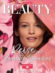 Ludwig Beck BEAUTY Herbst / Winter 2017