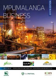 Mpumalanga Business 2017-18 edition