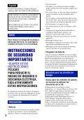 Sony DSC-W215 - DSC-W215 Consignes d'utilisation Portugais - Page 2