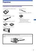 Sony DSC-W215 - DSC-W215 Consignes d'utilisation Portugais - Page 7