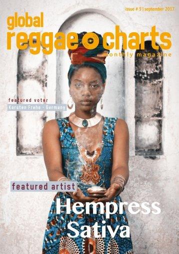 Global Reggae Charts - Issue #5 / September 2017
