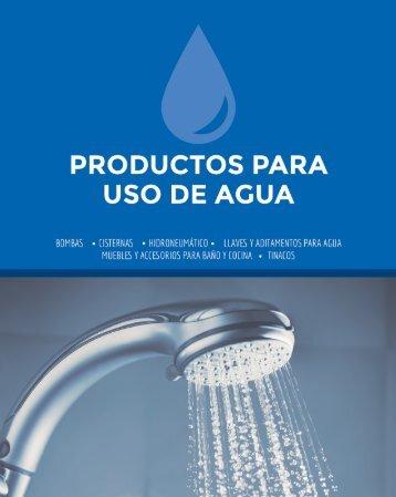 Productos para uso de Agua