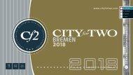 CITYforTWO BREMEN | Limitierte Ausgabe 2018