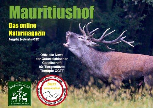 Mauritiushof Naturmagazin September 2017