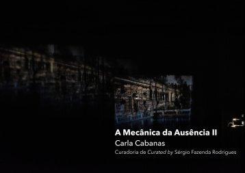 A MECÂNICA DA AUSÊNCIA II-Carla Cabanas