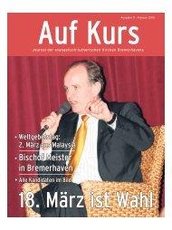 Auf Kurs_Ausgabe Februar 2012 - Kirchenjournal »Auf Kurs