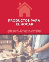 Catálogo Productos para el Hogar