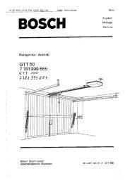 Ganzseitiger Faxausdruck - Somfy