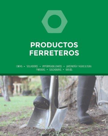 Catálogo Productos Ferreteros