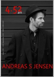 4.52am Issue: 051 14th September 2017 The ANDREAS S JENSEN Issue