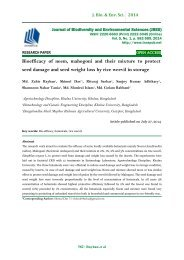 Bioefficacy of neem, mahogoni and their mixture to protect seed damage and seed weight loss by rice weevil in storage