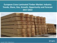 European Cross-Laminated Timber Market Trends, Share, Size and Forecast 2017-2022