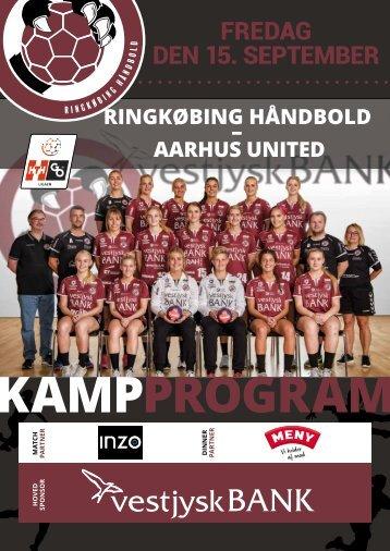 Kampprogram, Aarhus United
