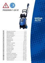 POSEIDON 1-20 XT - Nilfisk PARTS - Nilfisk-Advance