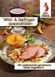 Wild- und Geflügelangebot 2017