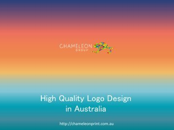 High Quality Logo Design in Australia