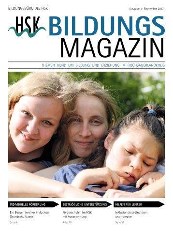 Bildungs Magazin Inklusion im HSK