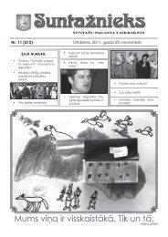 Suntažu pagasta laikraksts Suntažnieks, novembris - Ogres novads
