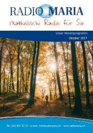 Radio Maria Schweiz - Oktober 2017