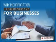 4 Reasons to Incorporate your Business