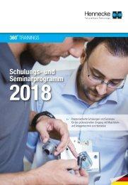 360°SERVICE -  Das neue Hennecke Schulungsprogramm 2018