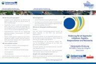 Förderung für oö-bayerische Initiativen, Projekte, Kooperationen und Netzwerke