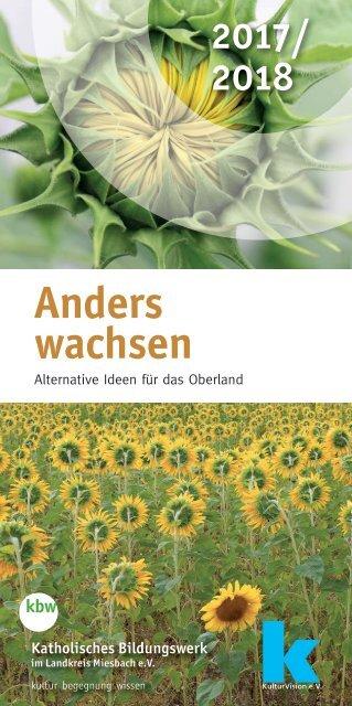 Anders wachsen 2017/2018