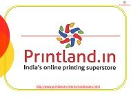 Buy Online Personalized or Customized Notebooks with Photo and Text Printed in India