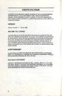 Voilà - Quorum - Documentation - ALEXTel - Français - Page 3