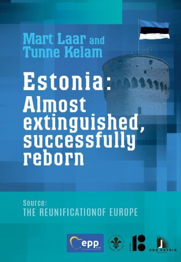 Estonia:  Almost extinguished, successfully reborn