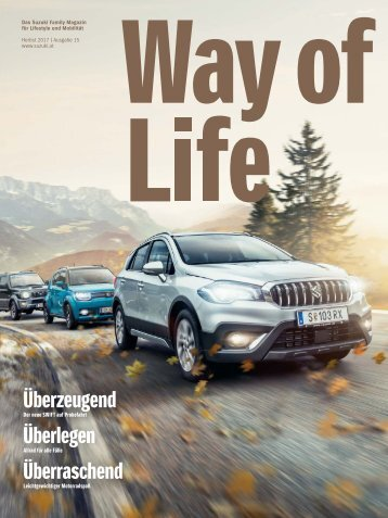 Suzuki Way of Life Magazin - Herbst 2017