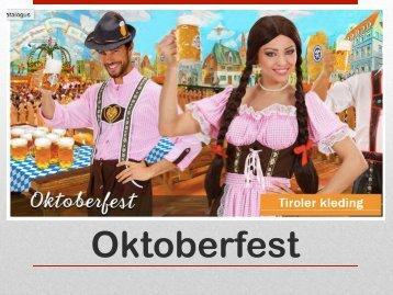 Oktoberfest kleding - e-carnavalskleding